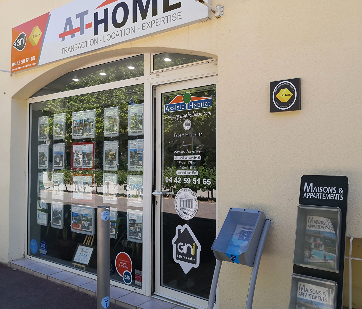 AT-HOME Immobilier